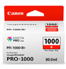 Canon PFI-1000 Red Ink Tank 80ml for imagePROGRAF PRO-1000