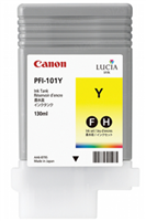 Canon PFI-101Y Yellow Ink Tank (130ml) for iPF5000, iPF5100, iPF6000S, iPF6100, iPF6200