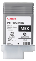 Canon PFI-102MBK Matte Black Ink Tank (130ml) for iPF500, iPF510, iPF600, iPF605, iPF610, iPF650, iPF655, iPF700, iPF710, iPF750, iPF755, iPF760, iPF765