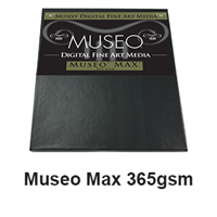 "Museo MAX Fine Art Paper 17""x22"" 365gsm 25 Sheets"