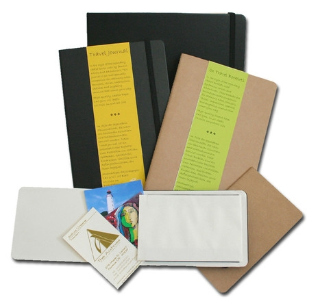 "Hahnemuhle Travel Booklet, 140gsm 3.5""x5.5"" (9x14cm), 20 sheets, 2-Pack"