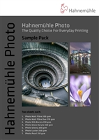 "Hahnemuhle Photo Sample Pack 8.5""x11"" - 14 sheets"