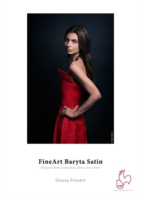 "Hahnemuhle FineArt Baryta Satin 300gsm 8.5""x11"" - 25 Sheets"