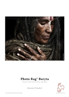 "Hahnemuhle Photo Rag Baryta 315gsm 8.27""x23.38"" 25 sheets"