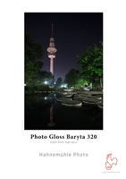 Hahnemuhle Photo Gloss Baryta 320gsm 17inx22in - 25 Sheets