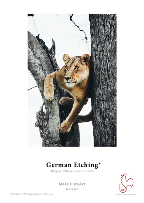 "Hahnemuhle German Etching 310gsm  8.5"" x 11"" -  25 Sheets"