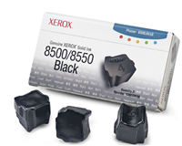 Xerox Phaser 8500/8550 Black Solid Ink Pack (3 Sticks) *NON-RETURNABLE