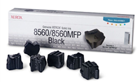 Xerox Phaser 8560/8560MFP Black Solid Ink Pack (6 Sticks)
