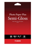 "CANON Photo Paper Plus Semi-Gloss 5""x7"" 20 sheets"