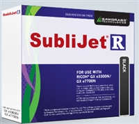SubliJet-R Black ink for Ricoh GX e3300 / GX e7700DN