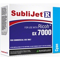 SubliJet-R Cyan Ink for Ricoh GX 7000 / 5050