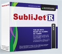 SubliJet-R Black Ink for Ricoh SG 3100 DN / SG 7100 DN