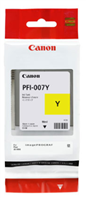 Canon Ink Tank PFI-007Y Dye Yellow Ink Tank 90ml