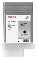 Canon PFI-103PGY Photo Gray Ink Tank (130ml) for imagePROGRAF iPF5100, iPF6100, iPF6200
