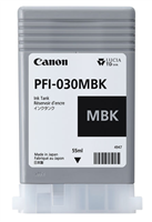 Canon PFI-030MBK - 55ml Matte Black Ink for imagePROGRAF TA-20, TA-30