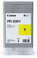 Canon PFI-030Y - 55ml Yellow Ink for imagePROGRAF TA-20, TA-30