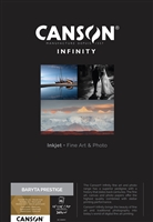 Canson Infinity Baryta Prestige 340gsm A3+ - 25 Sheets