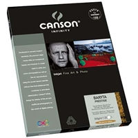 "Canson Infinity Baryta Prestige 340gsm 11""x17"" - 25 Sheets"