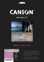 "Canson-Infinity Baryta Photographique II 310gsm Satin 8.5""x11"" - 10 sheets"