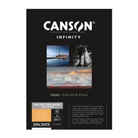 "Canson Infinity ARCHES BFK Rives Pure White 310gsm Matte 8.5""x11"" - 25 Sheets"