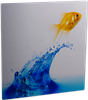 "ChromaLuxe Gloss Clear Aluminum Photo Panel 5""x5"" - 10 Sheets"