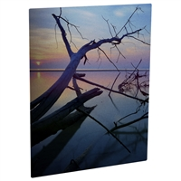 "ChromaLuxe Semi-Gloss Clear Aluminum Photo Panel 6""x6"" - Case of 10"