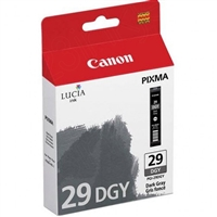 Canon PGI-29 Dark Gray Ink Tank for PIXMA PRO-1