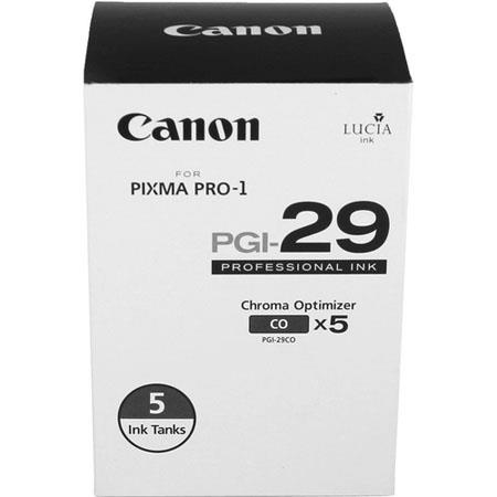 Canon PGI-29 Chroma Optimizer Tank 5-Pack for PIXMA PRO-1