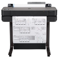 "HP DesignJet T630 24"" Large-Format Wireless Plotter Printer"
