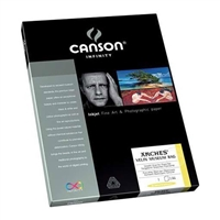 "Canson Infinity Velin Museum Rag 315gsm 8.5""x11"" - 25 Sheets"