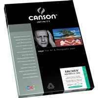 "Canson-Infinity Arches Aquarelle Rag 240gsm 8.5""x11"" - 25 Sheets"