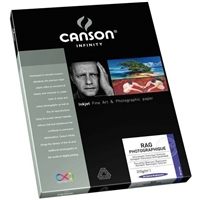 "Canson Infinity Rag Photographique 310gsm 8.5""x11"" - 25 Sheets"