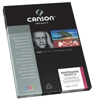 "Canson Infinity PhotoSatin Premium RC 270gsm 11""x17"" - 25 Sheets"