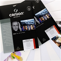 "CANSON INFINITY Discovery Sample Pack 8.5""x11 - 9 Sheets"