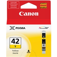 Canon CLI-42Y Yellow Ink Tank for PIXMA PRO-100