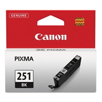 Canon CLI-251BK Black Ink Cartridge for Canon MG6320, IP7220, MG5420, MX922