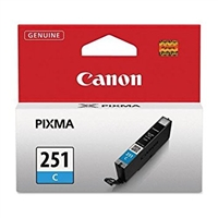 Canon CLI-251C Cyan Ink Cartridge for Canon MG6320, IP7220, MG5420, MX922