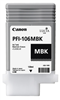 Canon PFI-106MBK Matte Black Ink Tank (130ml) for iPF6300, iPF6300S, iPF6350, iPF6400, iPF6400S, iPF6450