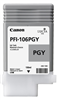 Canon PFI-106PGY Photo Gray Ink Tank (130ml) for imagePROGRAF iPF6300, iPF6300S, iPF6350, iPF6400, iPF6400S, iPF6450