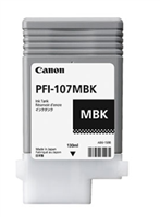Canon PFI-107MBK Matte Black Pigment Ink Cartridge 130ml