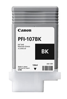 Canon Ink Tank PFI-107BK - Dye Black Ink Tank 130ml