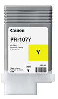 Canon Ink Tank PFI-107Y - Dye Yellow Ink Tank 130ml