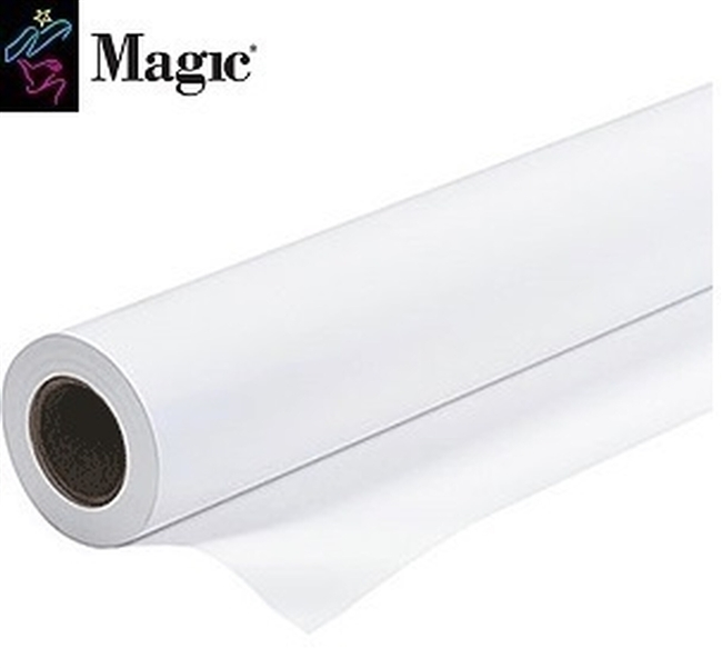 "Magic Siena250L Satin Microporous Photo Paper (10 mil) 24"" x 10' 3"" Core"