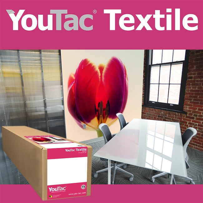 "Innova YouTac Repositionable Textile 42""x100' Roll"