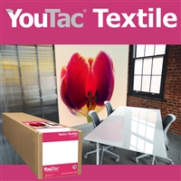 "Innova YouTac Repositionable Textile 54""x100' Roll"