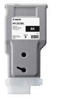 Canon PFI-207BK Black Ink Cartridge (300ml)  for imagePROGRAF iPF680, iPF685, iPF780, iPF785 - 8789B001AA