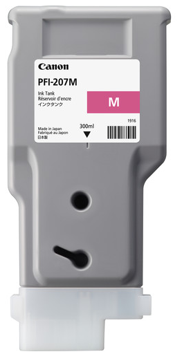 Canon PFI-207M Magenta Ink Cartridge (300ml)  for imagePROGRAF iPF680, iPF685, iPF780, iPF785 - 8791B001AA