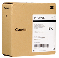 Canon PFI-307BK Black Ink Tank (330ml) for imagePROGRAF iPF830, iPF840, iPF850 - 9811B001AA