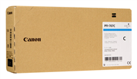 Canon PFI-707C Cyan Ink Cartridge 700mL