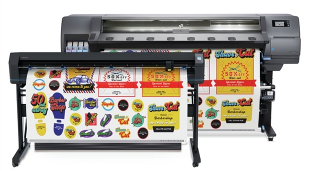 "HP Latex 335 64"" Print & Cut Plus Solution"